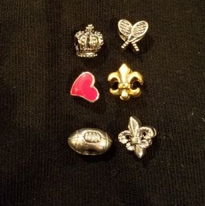Jewelry - Sterling silver magnetic slide charms